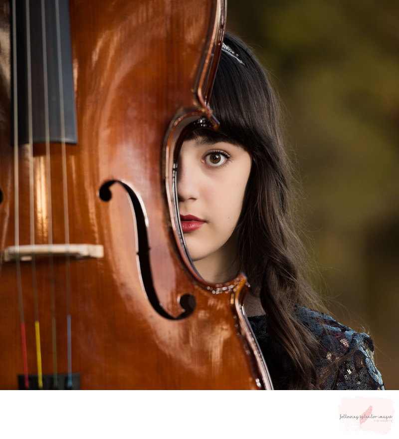 Unique Cello Portrait Little Rock Photographer
