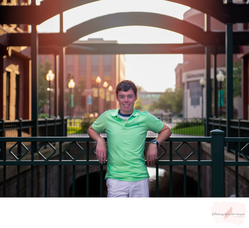 Little Rock Arkansas Urban Senior Photography