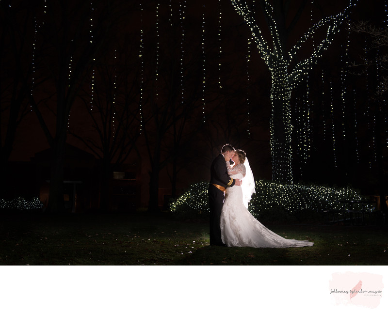 Harding University Holiday of Lights Wedding
