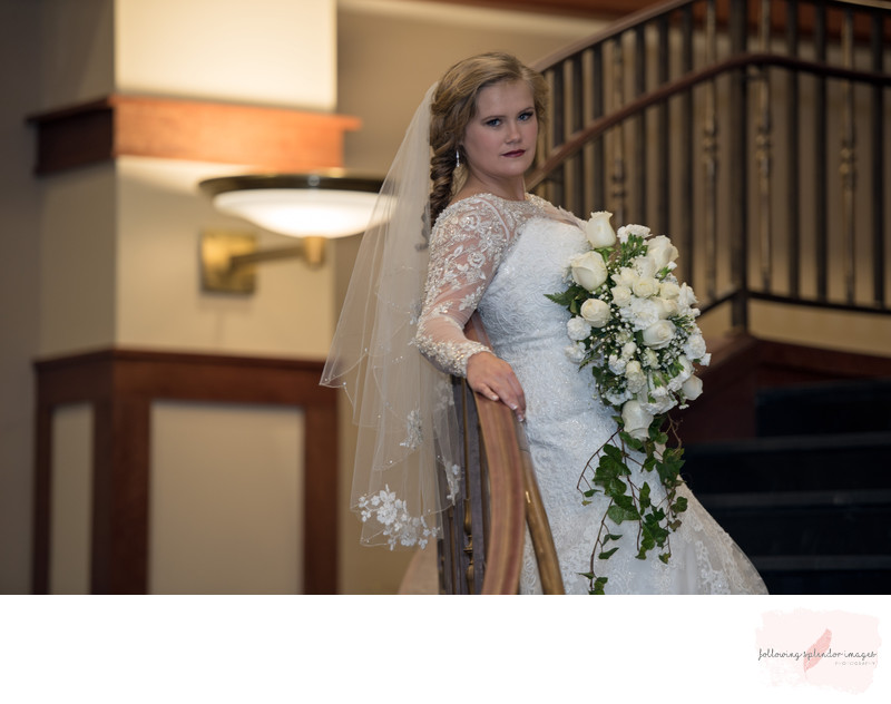 Harding University Wedding Bridal Portrait