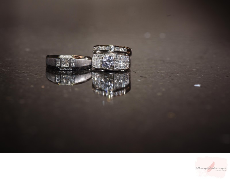 Gorgeous Wedding Ring Photography