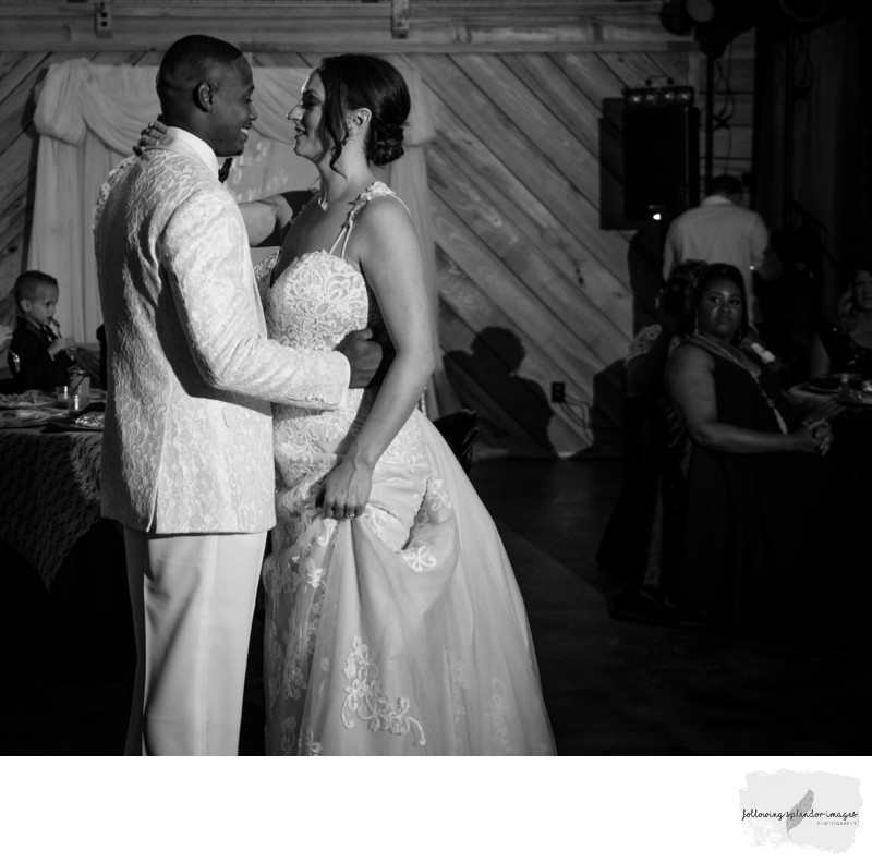 First Dance in Black and White