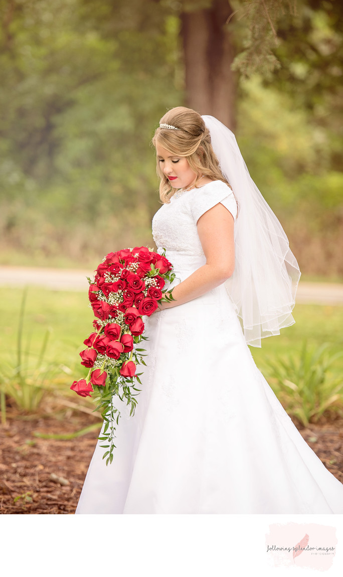 Traditional Bridal Portrait Little Rock, Arkansas Weddings