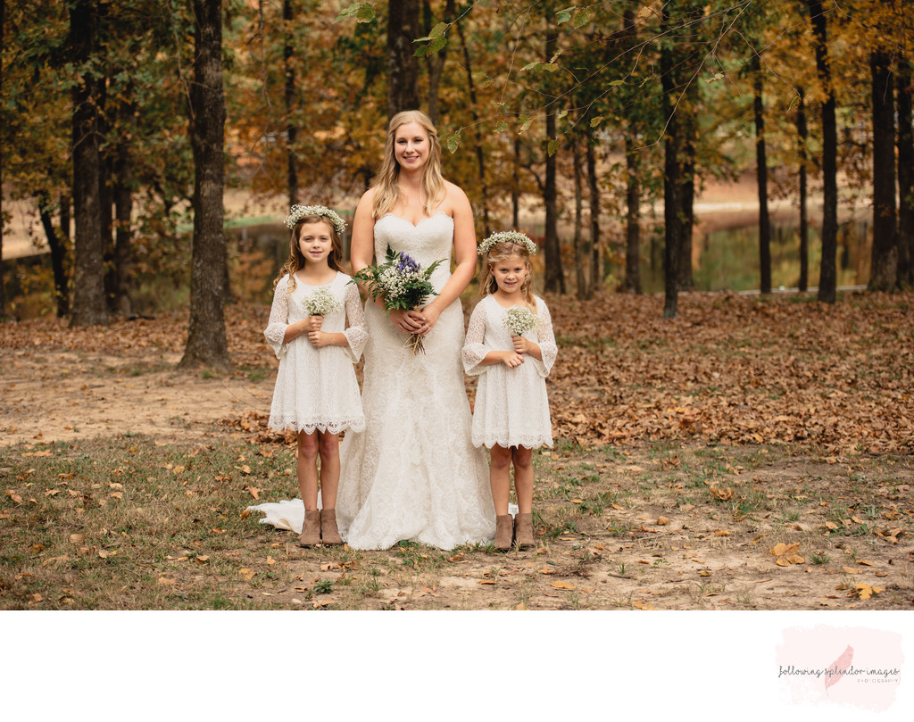 Park on the River Fall Wedding Photographer
