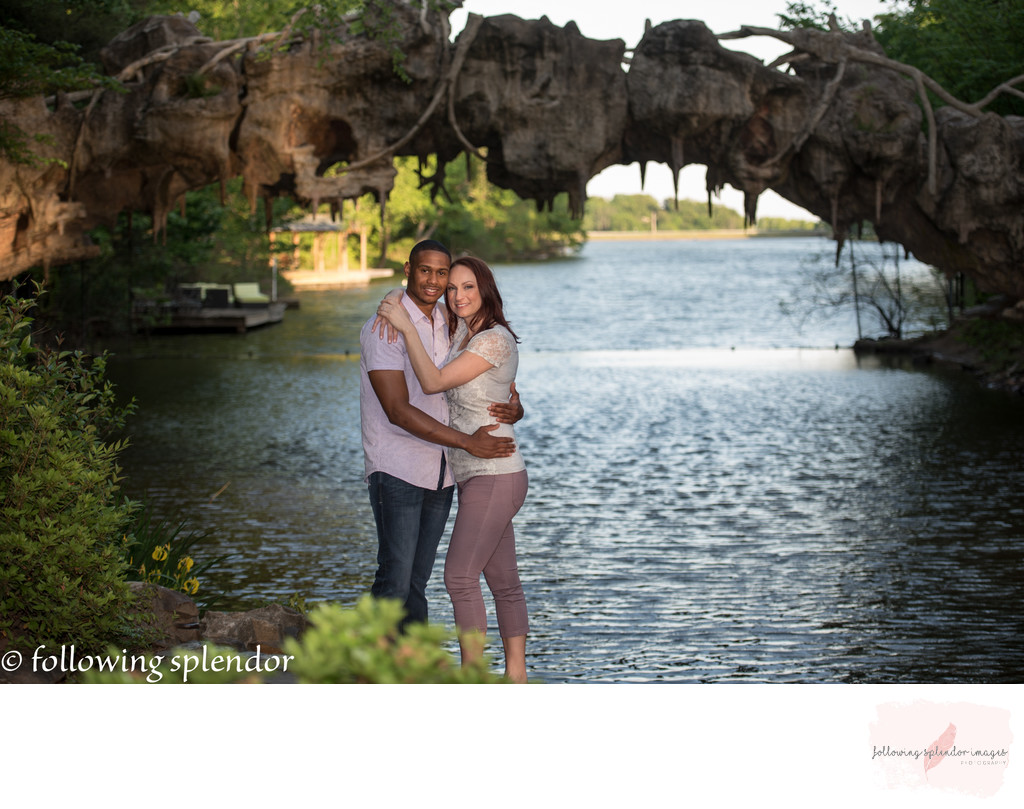The Old Mill in North Little Rock, Engagement Photos