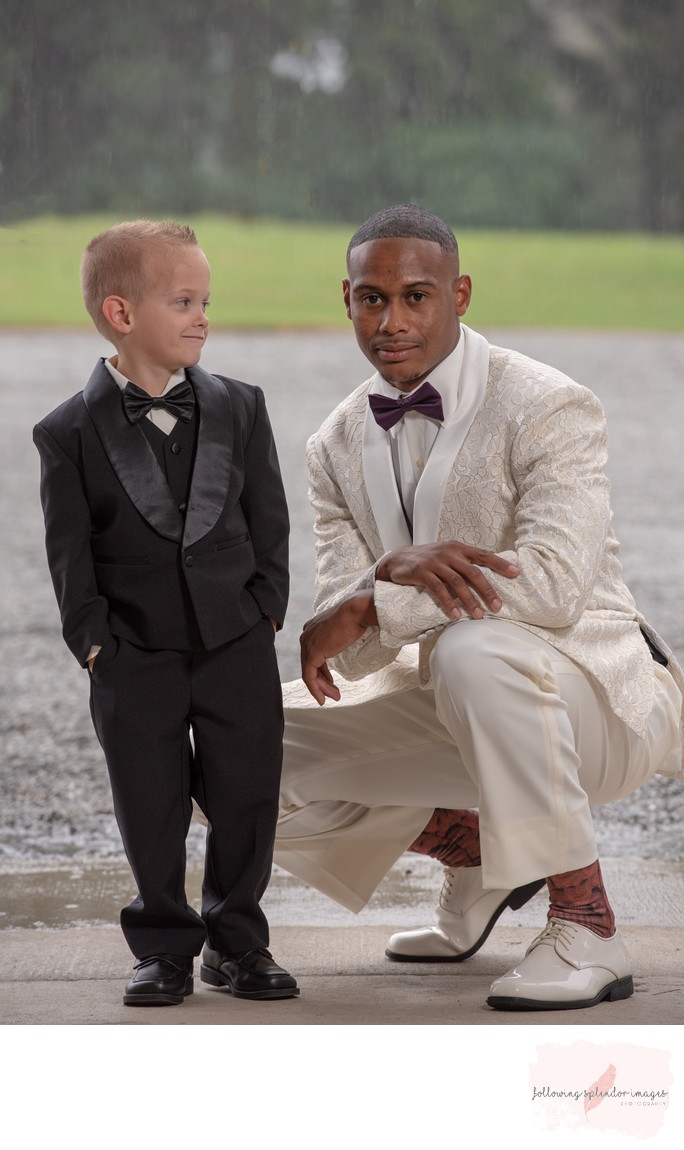Ring Bearer and Groom