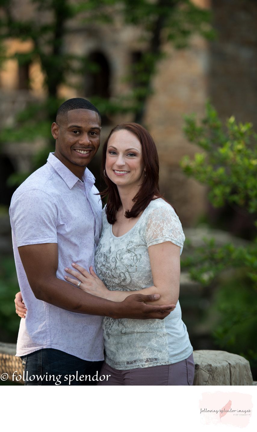 Engagement Photos at the Old Mill in Little Rock, Arkansas