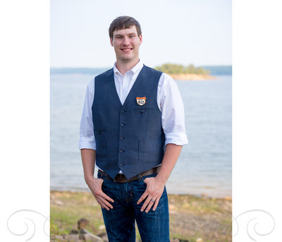 Casual Groom In Jeans Lake DeGray Wedding