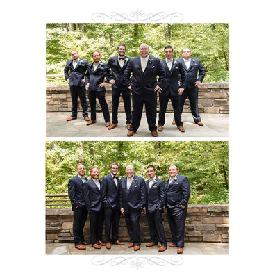 Anthony Chapel Wedding Photography Album Page
