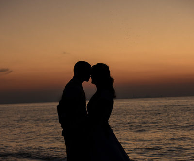 Silhouette Wedding Photo from Following Splendor Images