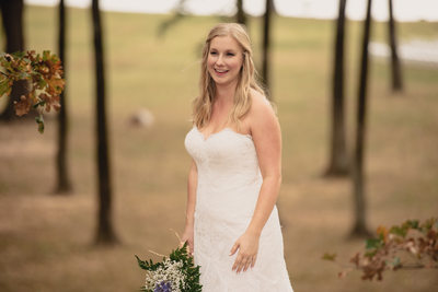 Smiling Bridal Portraits