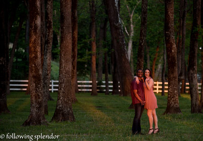 The Park on The River Engagement Photos