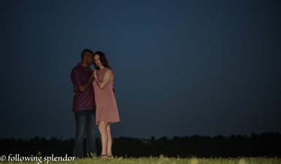 Romantic Engagement Photos in Little Rock, Arkansas