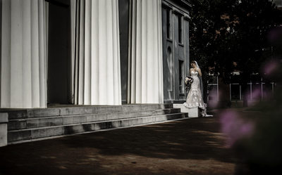 Old State House Museum Bridal Photo