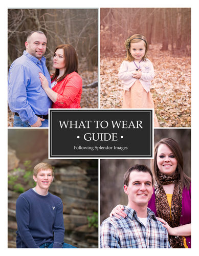 What to Wear Guide for Portrait Photography Little Rock