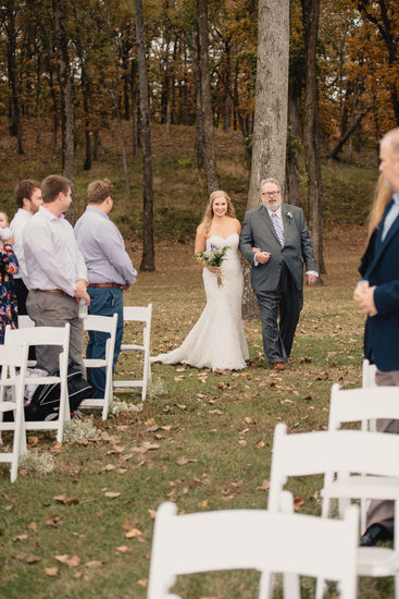 Fall Ourdoor Wedding at the Park On The River