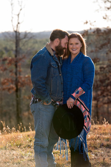 Arkansas Family Fall Portrait Casual Country Look