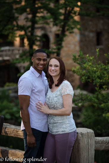 Engagement Photo The Old Mill Little Rock, Arkansas