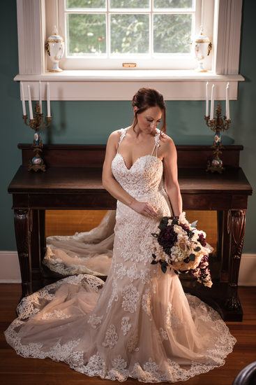 Beautiful Off White Wedding Gown