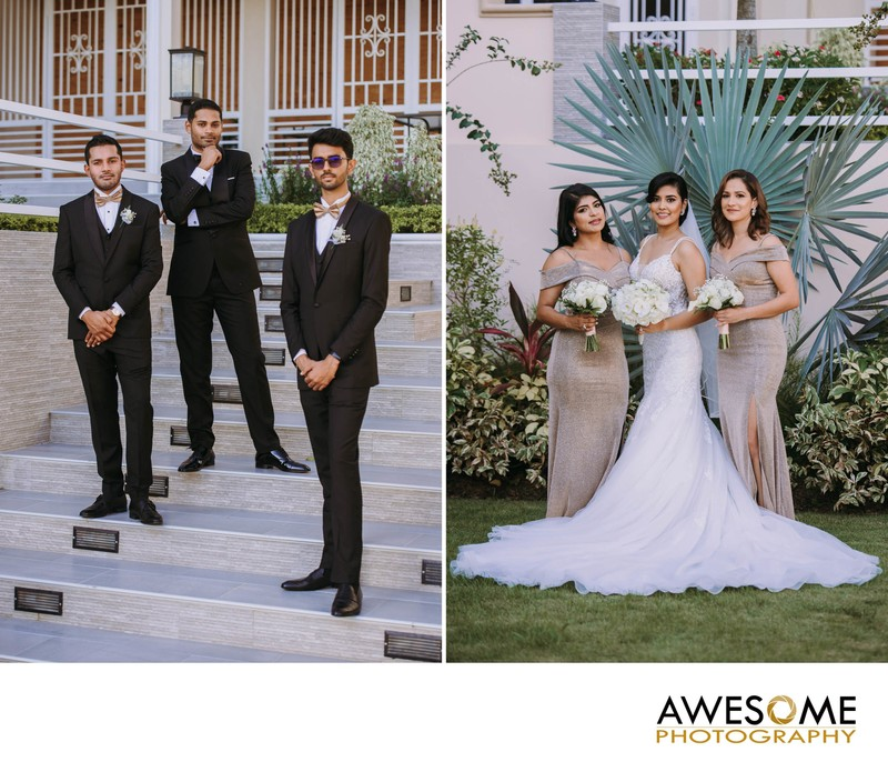 Bridesmaids & Groomsmen in Trinidad