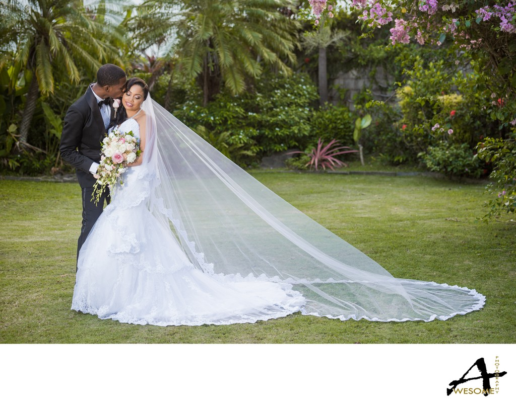 Trinidad Bride & Groom Portrait