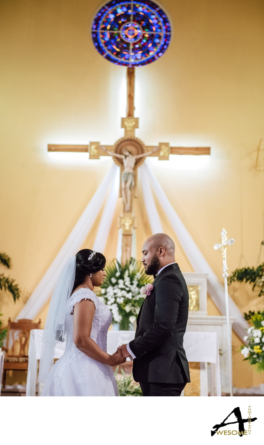 Church Wedding, San Fernando, Trinidad.