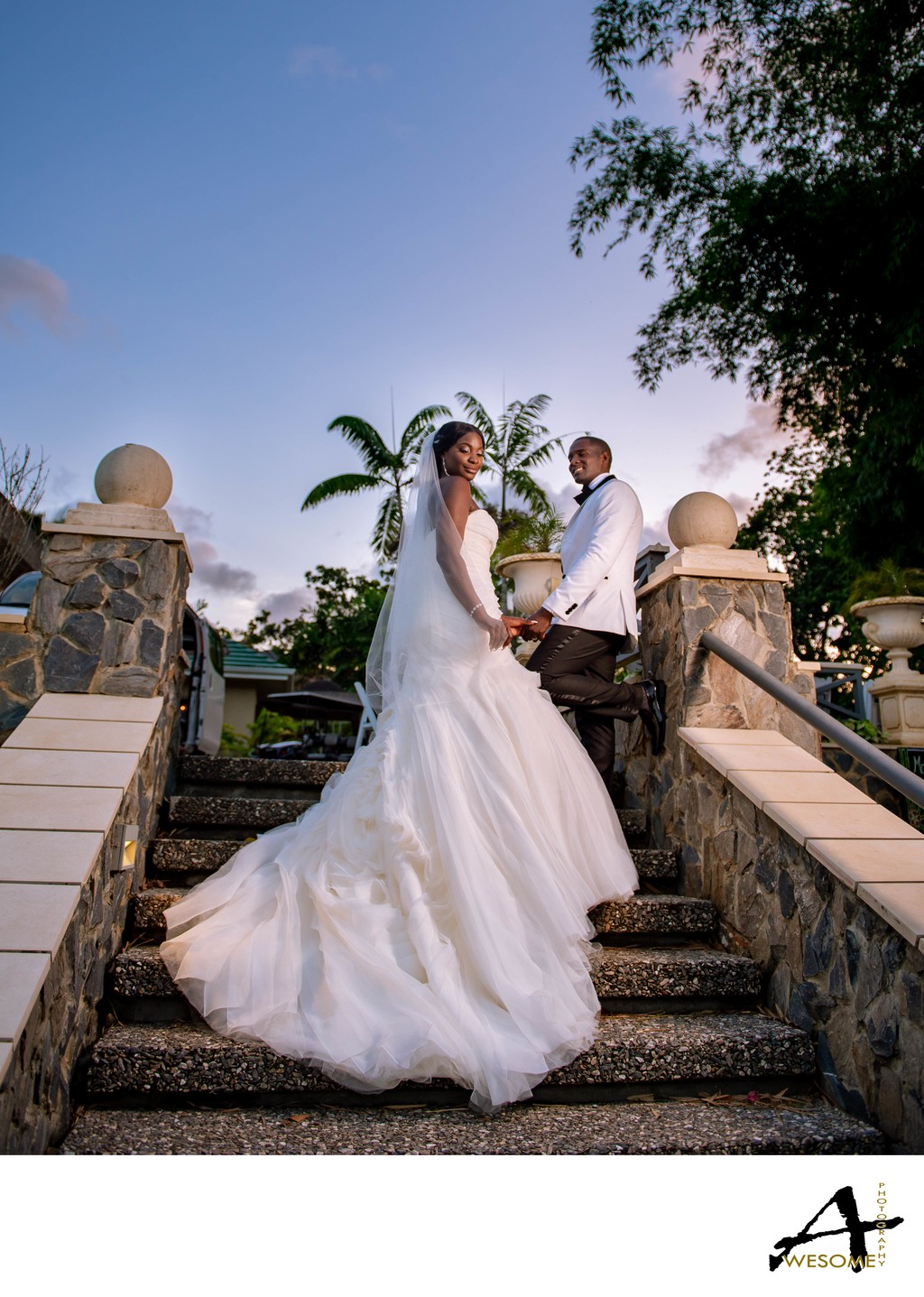 Drew Manor Wedding, Trinidad