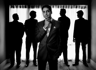 Groom portrait Hyatt Regency, Trinidad