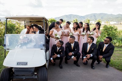 Millennium Golf Course Wedding