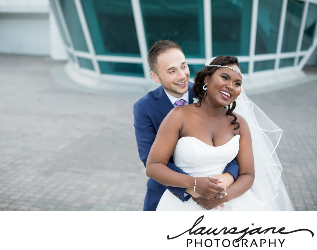 Milwaukee Art Museum Wedding Photographer