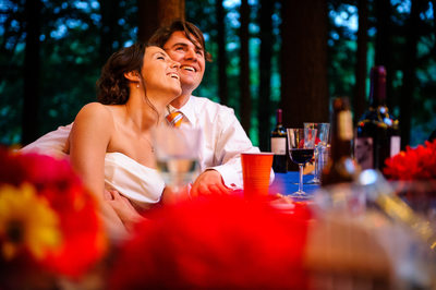 Relaxed Lake George Wedding