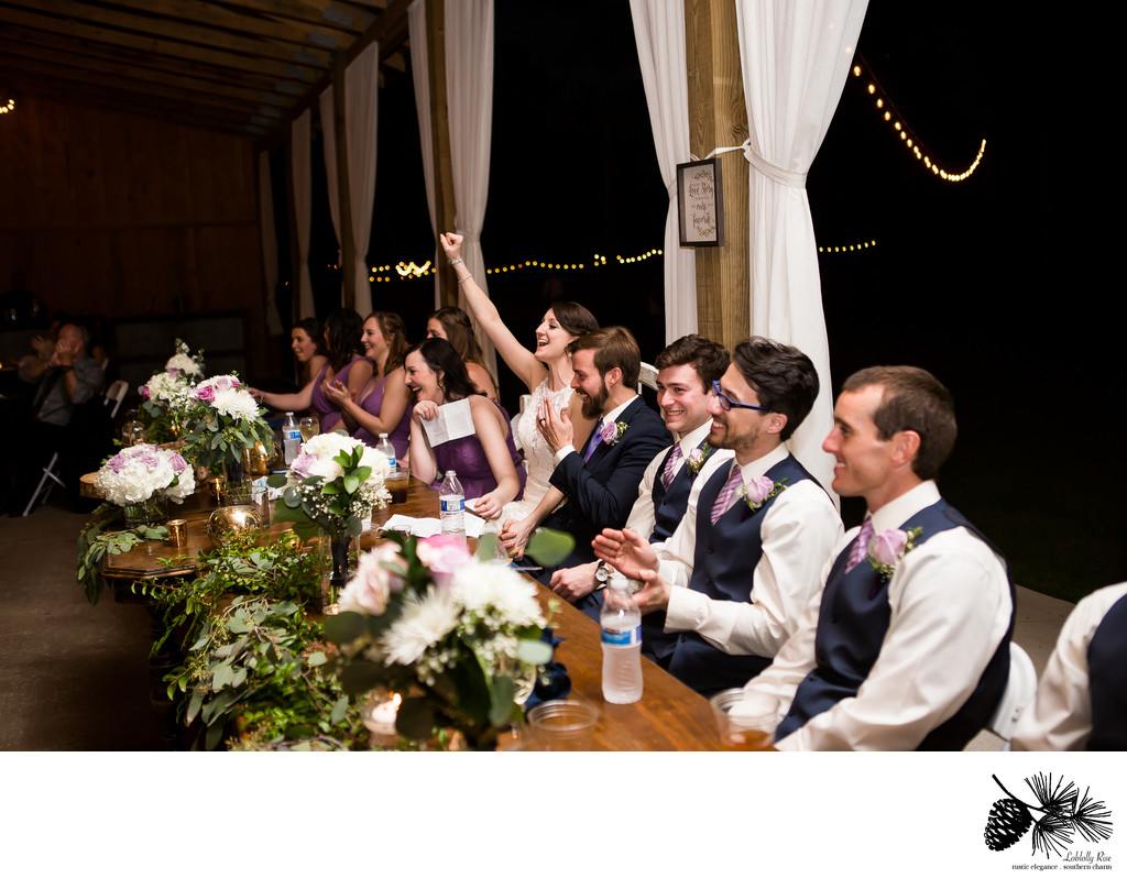 Cheers to the Bride and Groom ~  A toast from the best man