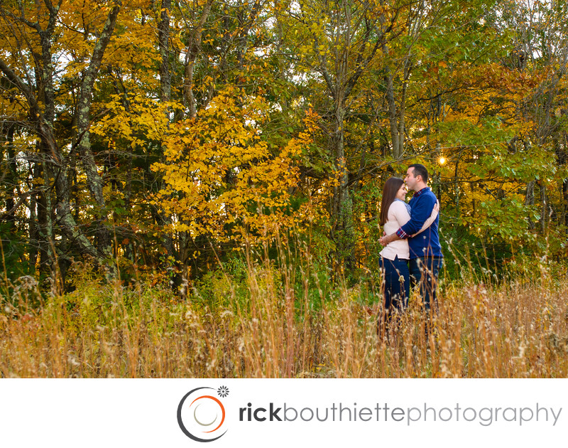 New Hampshire Fall Foliage Engagement Session