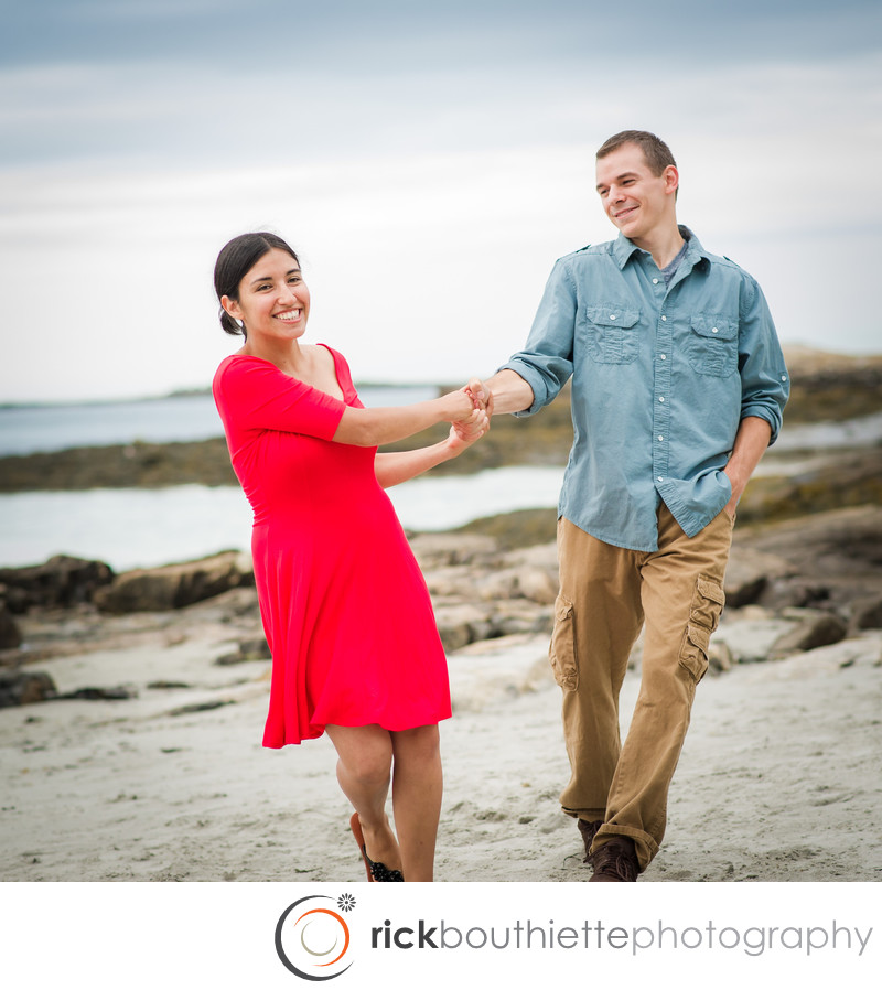SEACOAST ENGAGEMENT SESSION - GREAT ISLAND COMMONS