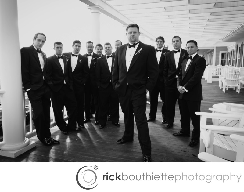 THE GROOMSMEN - MOUNTAIN VIEW GRAND RESORT WEDDING