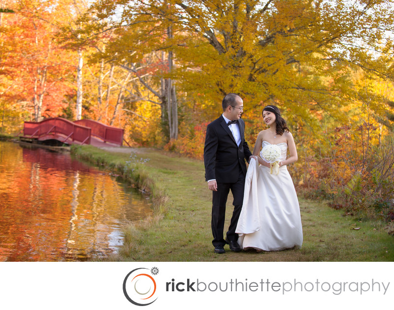 FALL WEDDING AT INDIAN HEAD RESORT NEW HAMPSHIRE