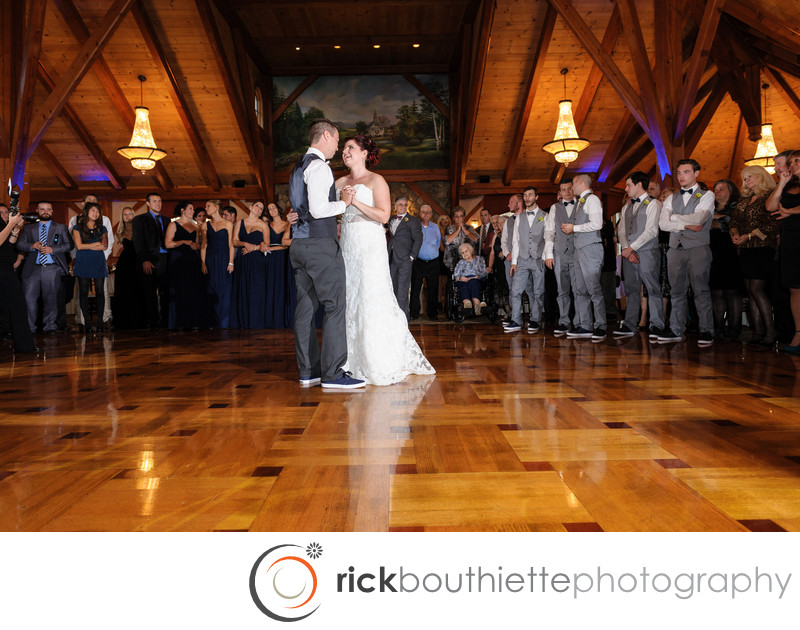 TEWKSBURY COUNTRY CLUB WEDDING - FIRST DANCE