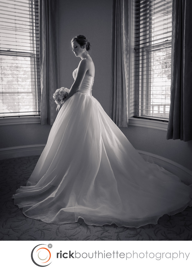 BRIDAL PORTRAIT - DEL-LEA WEDDING NH
