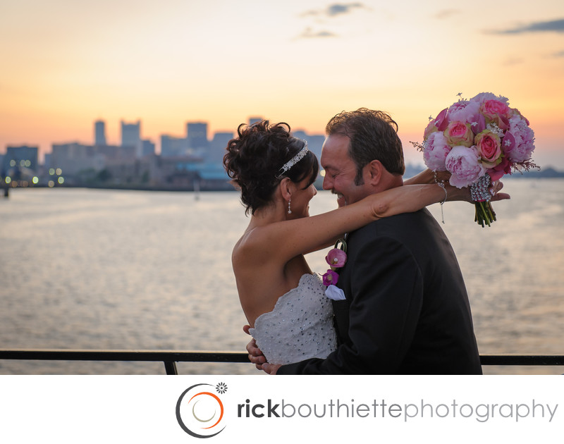 BOSTON WEDDING ABOARD THE ODYSSEY - ROWES WHARF, BOSTON