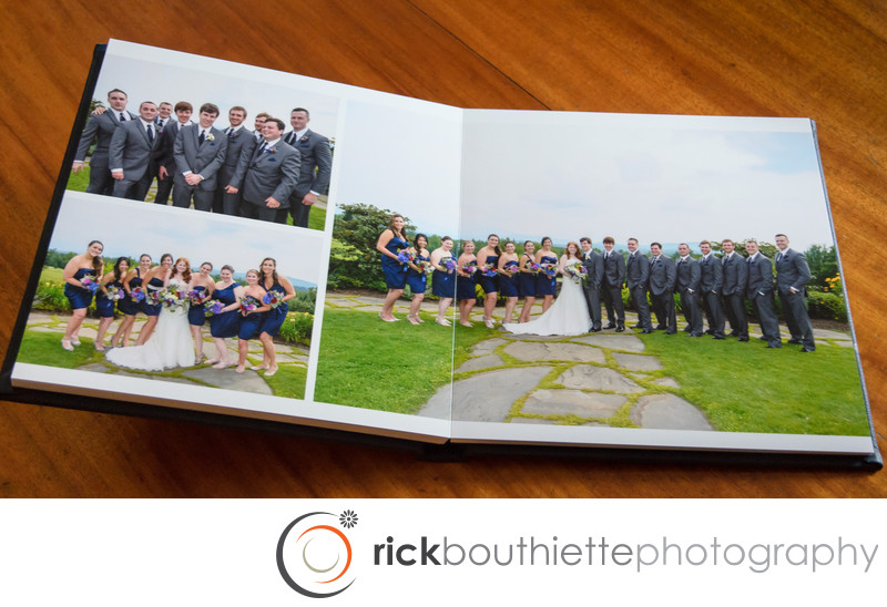 Flush Mount Wedding Album Wedding Party