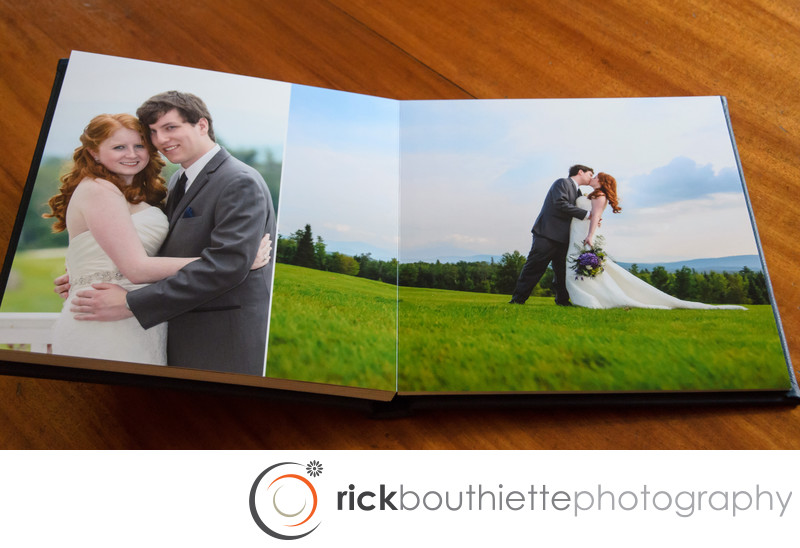 Flush Mount Wedding Album Formal Portraits