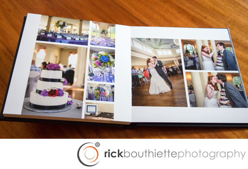 Flush Mount Album Wedding Reception