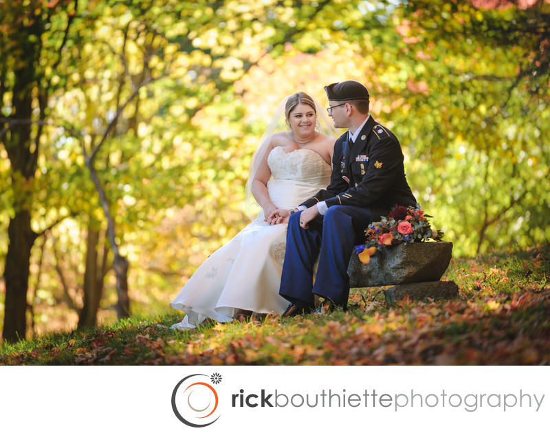 Fall Wedding at Three Chimneys Inn, Durham, NH