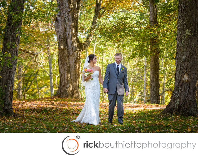 Fall Thompson Inn Wedding - Durham, NH