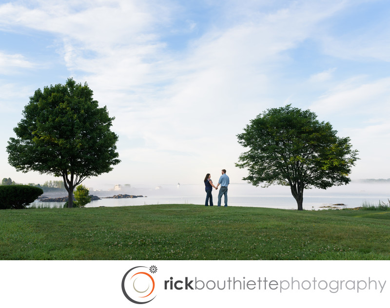 NH Engagement Photography - Great Island Common