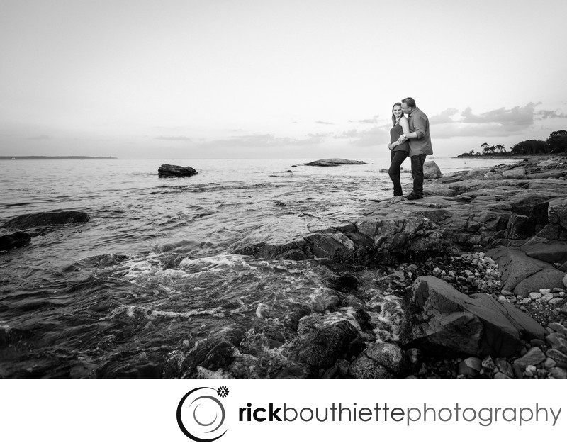 Ordiorne Point Engagement Photography