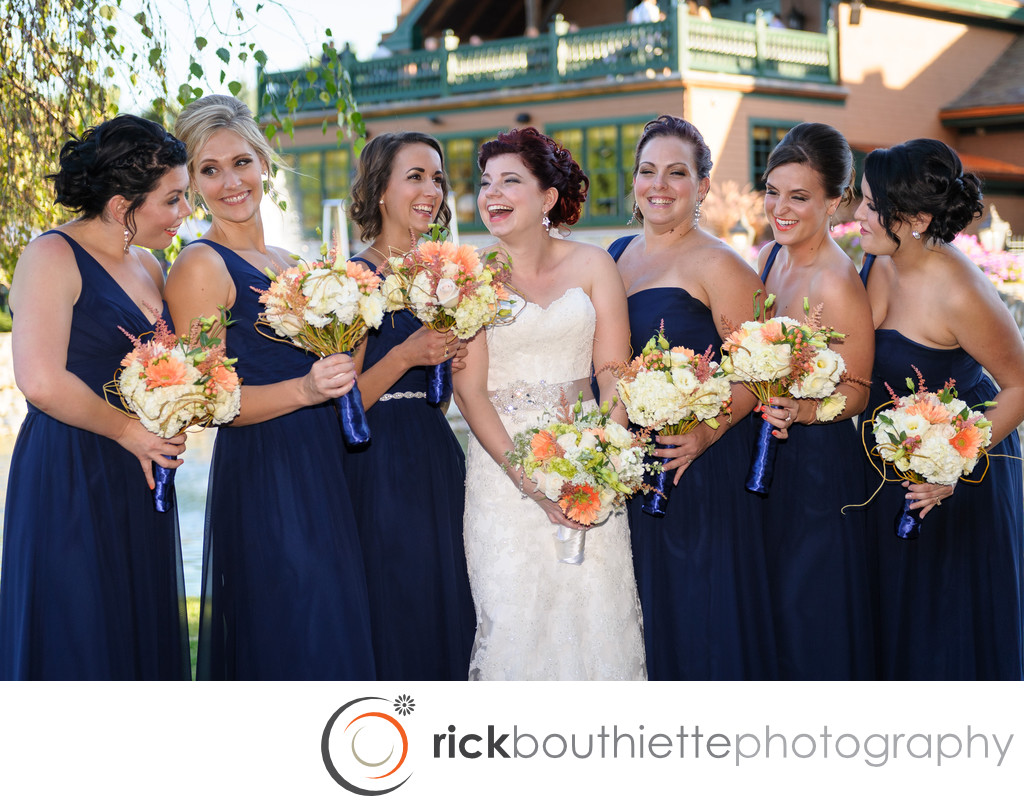 THE BRIDESMAIDS - TEWKSBURY COUNTRY CLUB WEDDING