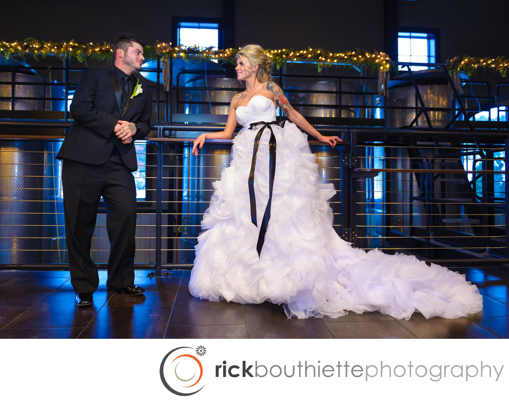 Labelle Winery Winter Wedding Photography