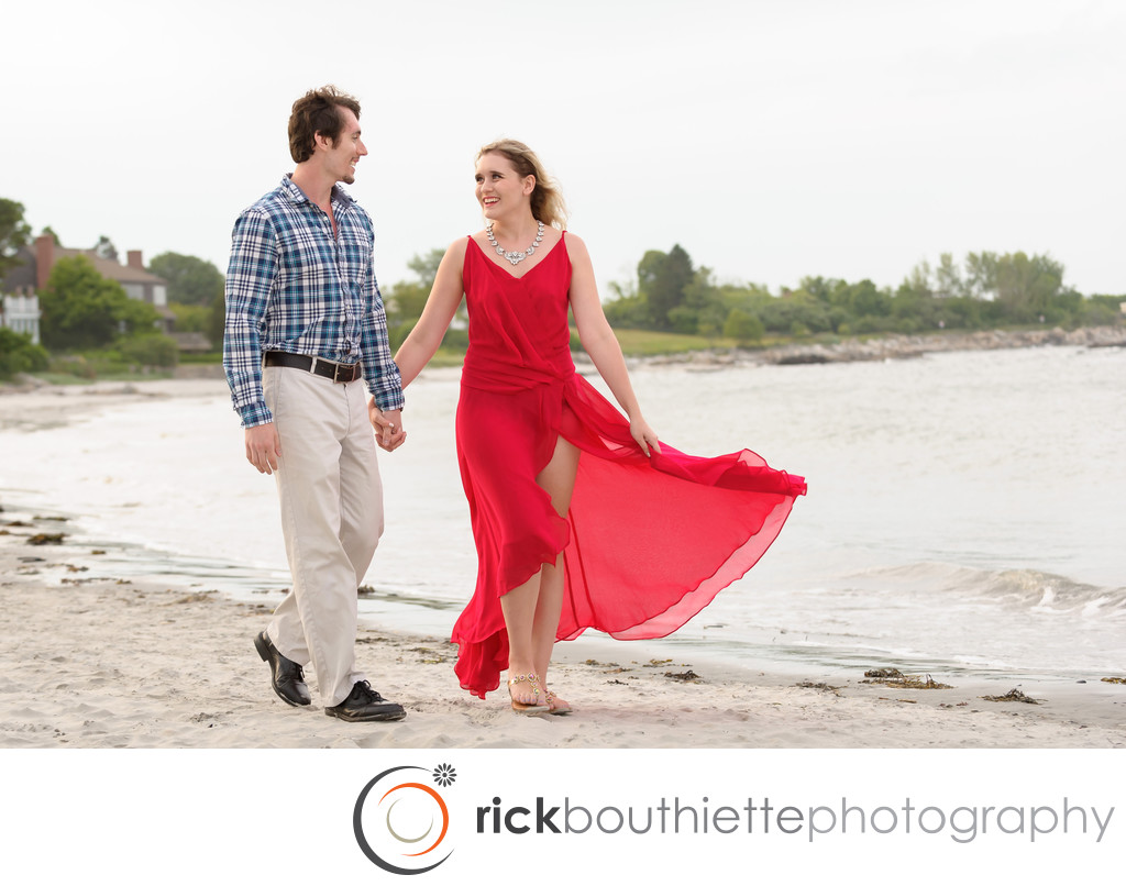 New Castle NH Seacoast Engagement Photography