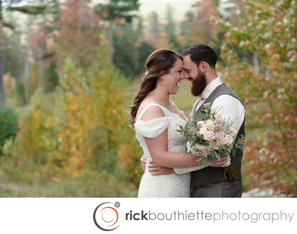 Wedding At New Hampshires Ragged Mountain Resort
